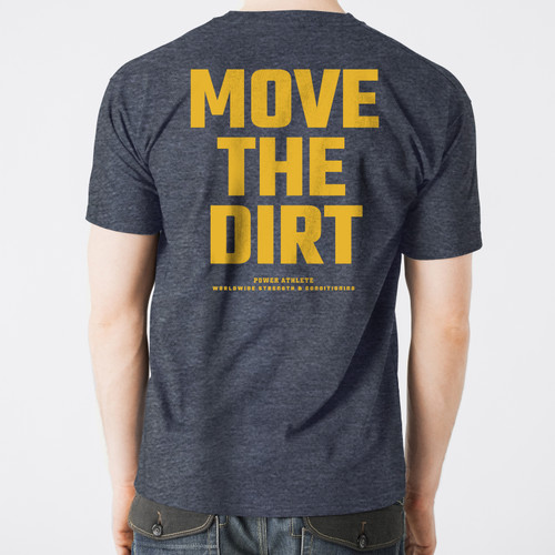 Move The Dirt Navy Back