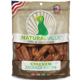 Natural Value Soft Chew Chicken Sausages