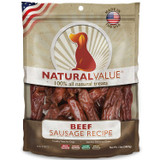 Natural Value Beef Sausages