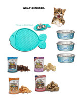 True Blue Cat Gift Basket