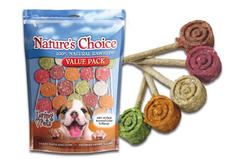 Nature's Choice Assorted Lollipops (20 Pack)