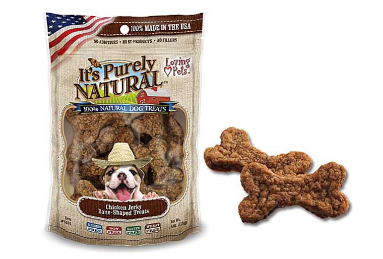 It's Purely Natural Bone-Shaped Chicken Jerky