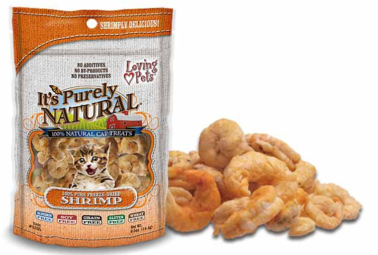 It's Purely Natural Freeze Dried Shrimp Treats