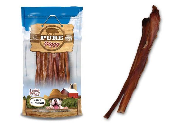 Pure Piggy Pig Pizzle (6 Pack)