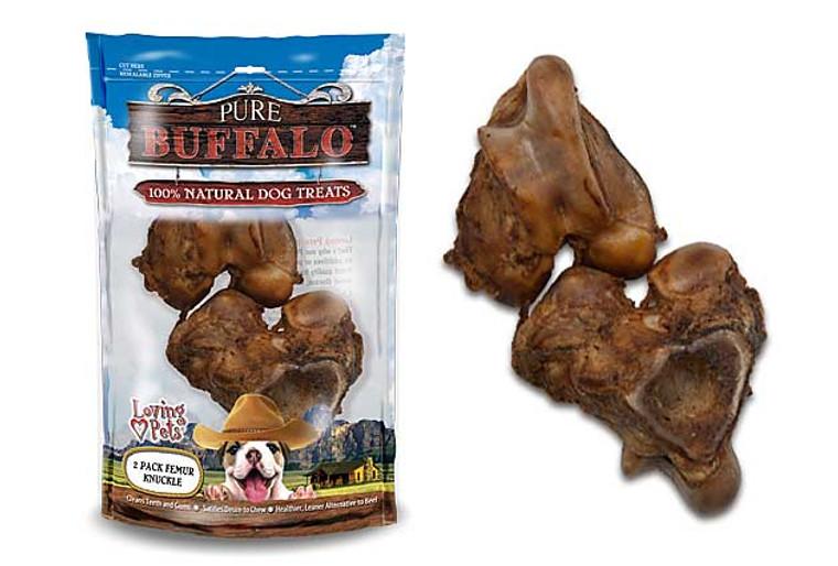 Pure Buffalo 2 Pack Meaty Femur Knuckle