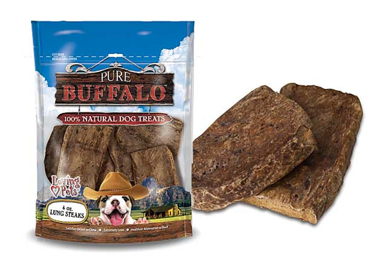 Pure Buffalo Lung Steaks