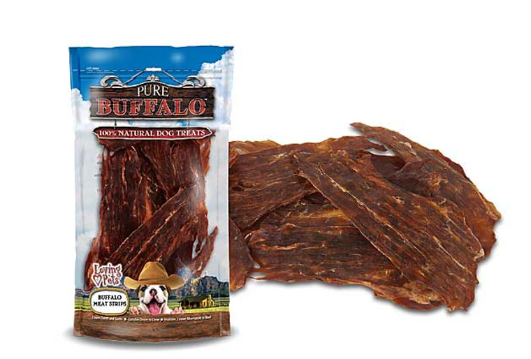 Pure Buffalo Jerky Meat Strips
