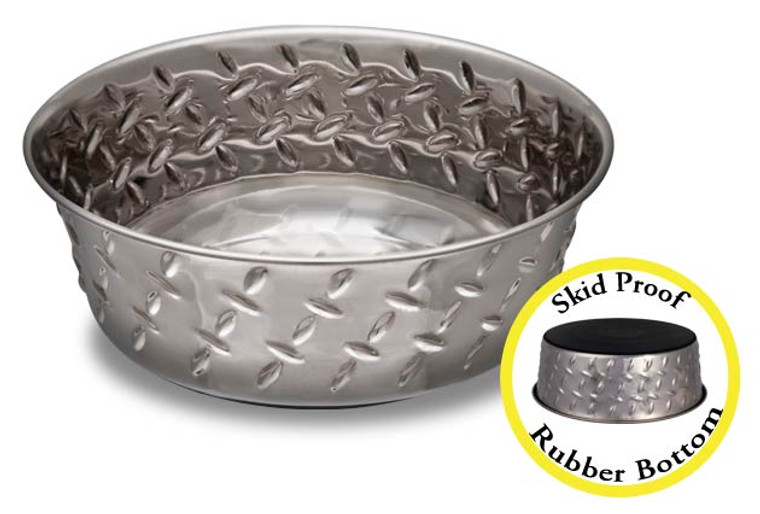 Ruff N' Tuff Diamond Plate Bowl