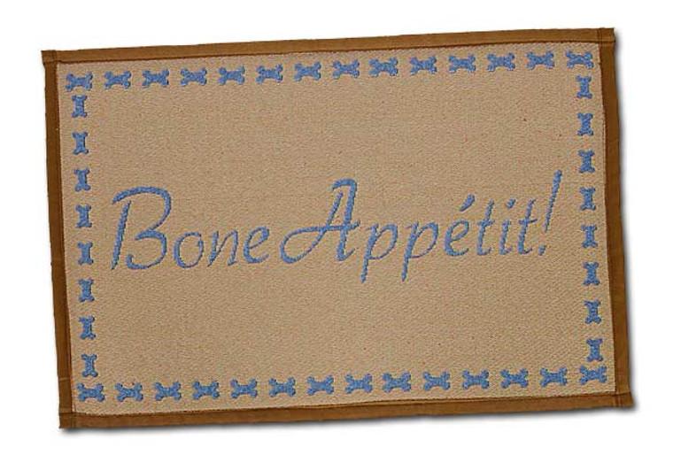 Bone Appetit Fashion Mat