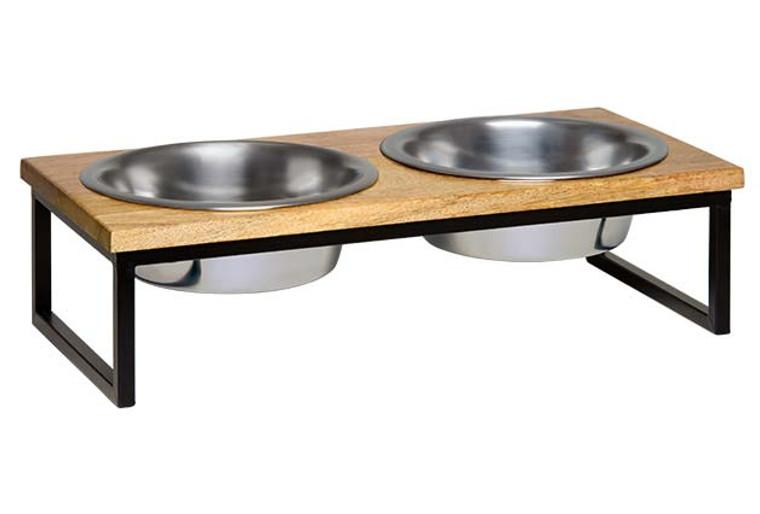 Natural Wooden Top Diner