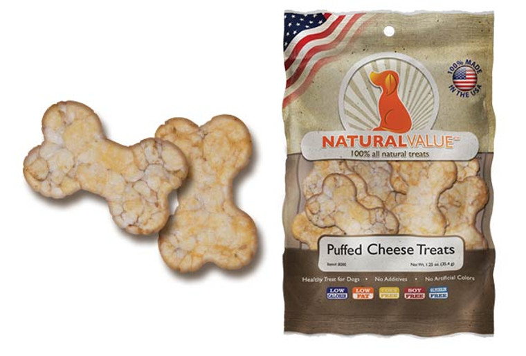 Natural Value Puffed Cheese Treats