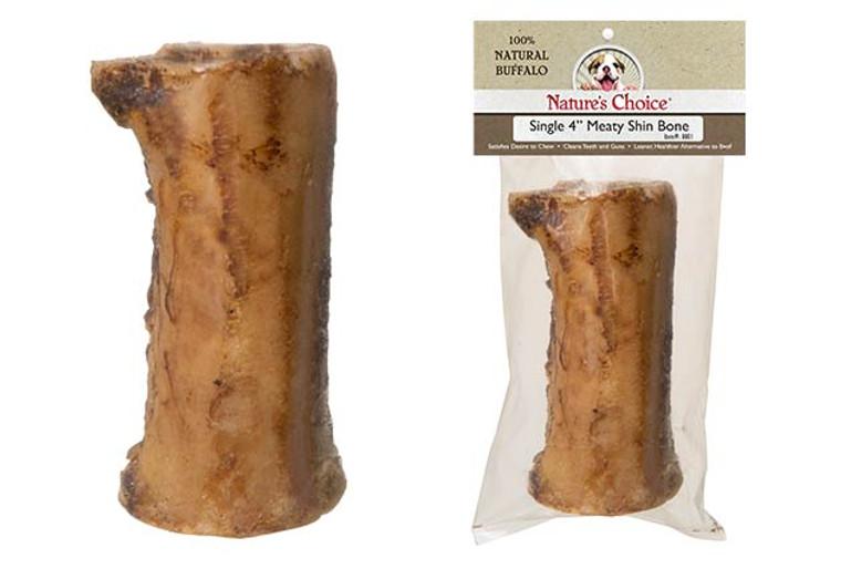 "Nature's Choice 4"" Meaty Shin Bone"