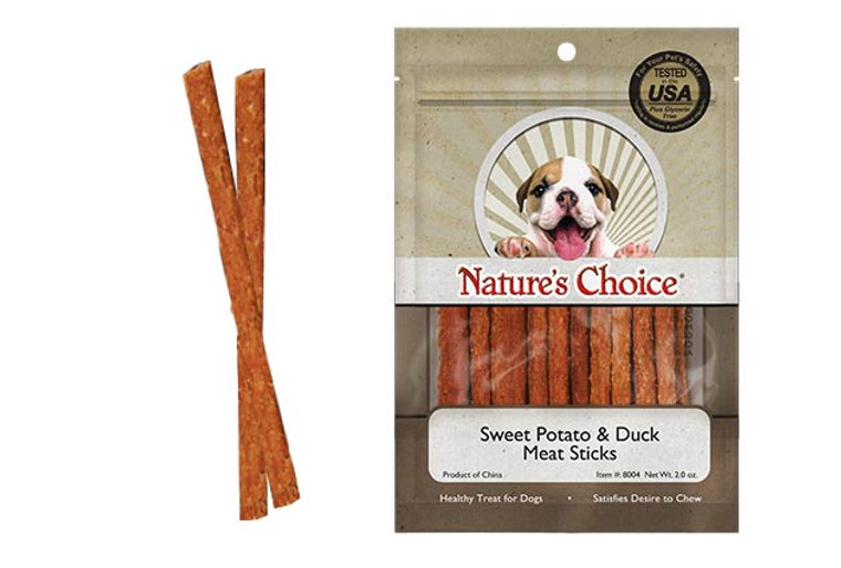 Nature's Choice Sweet Potato & Duck Meat Sticks