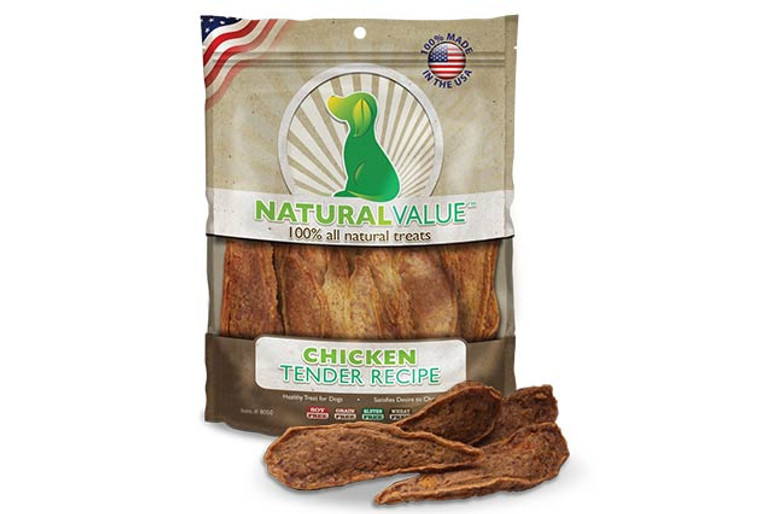 Natural Value Soft Chew Chicken Tenders