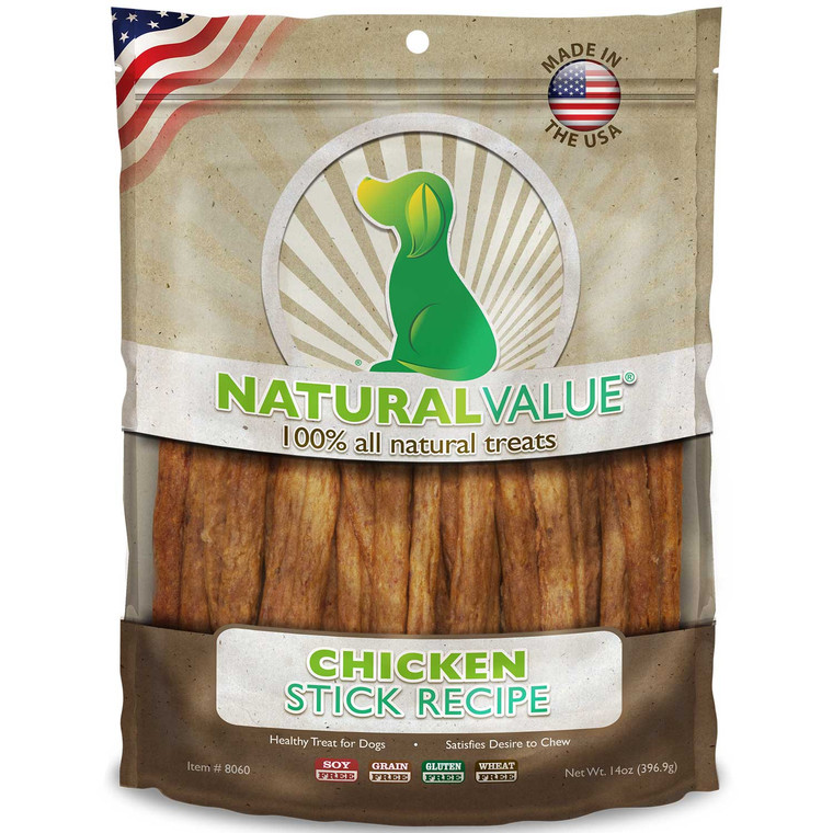 Natural Value Soft Chew Chicken Sticks