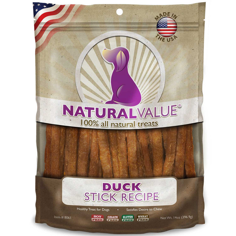 Natural Value Soft Chew Duck Sticks