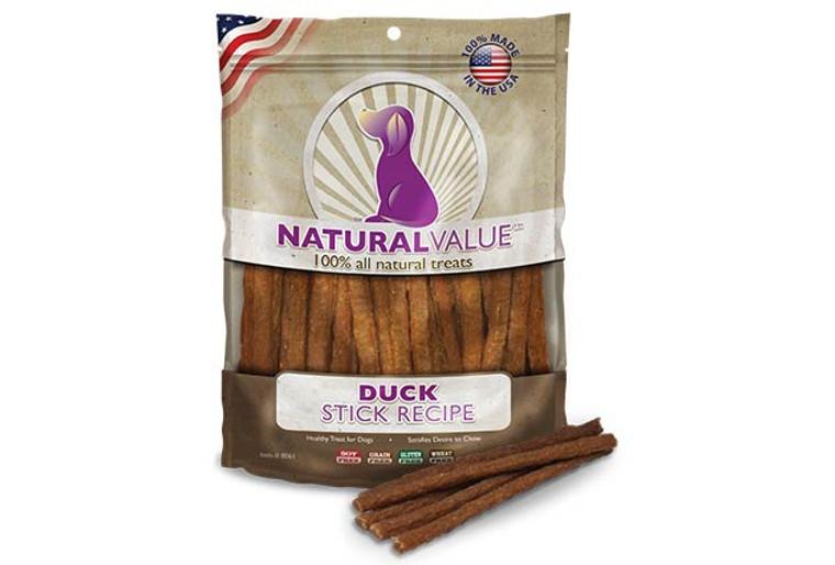Natural Value Soft Chew Duck Sticks