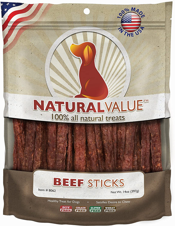 Natural Value Soft Chew Beef Sticks