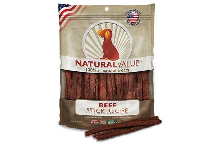 Natural Value Soft Chew Beef Sticks