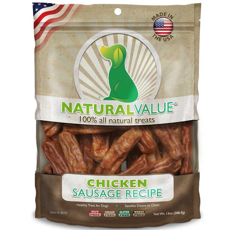 Natural Value Soft Chew Chicken Sausages