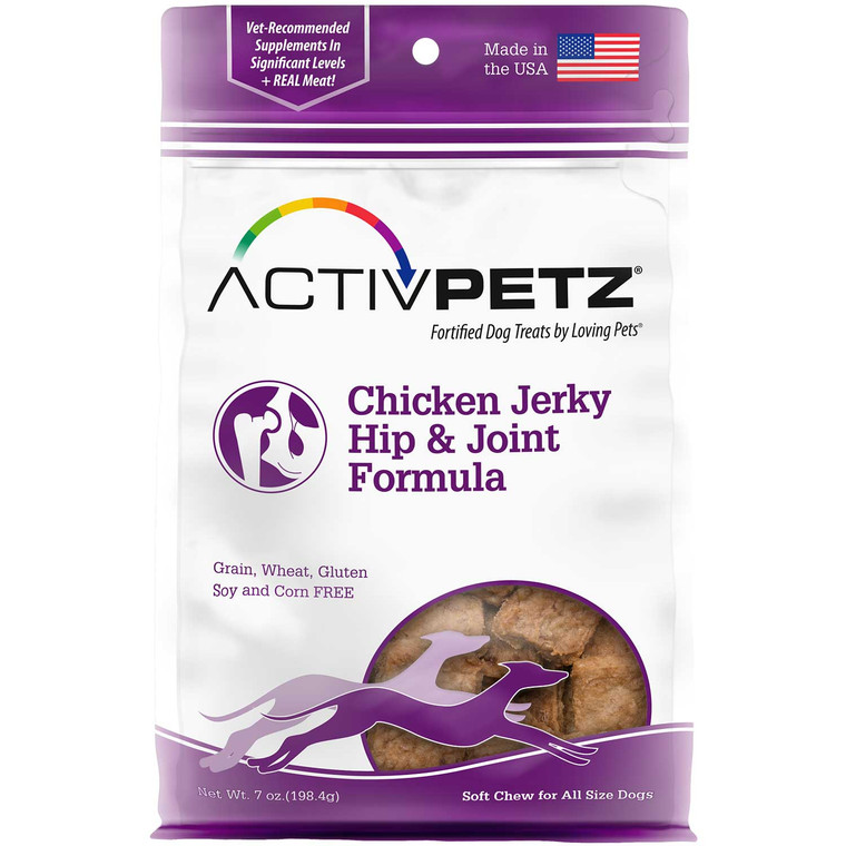 Activpetz Chicken Jerky Hip & Joint Formula