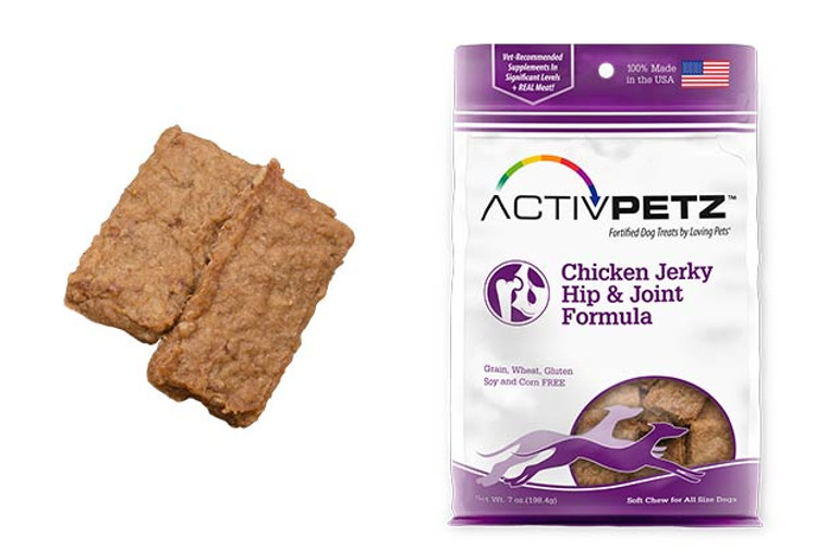 Activpetz Chicken Jerky Hip & Joint Formula