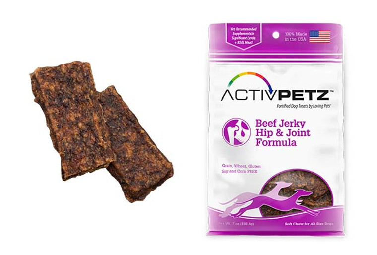 Activpetz Beef Jerky Hip & Joint Formula