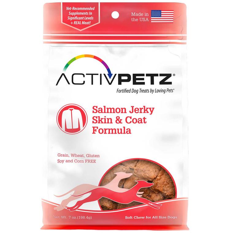 Activpetz Salmon Jerky Skin & Coat Formula