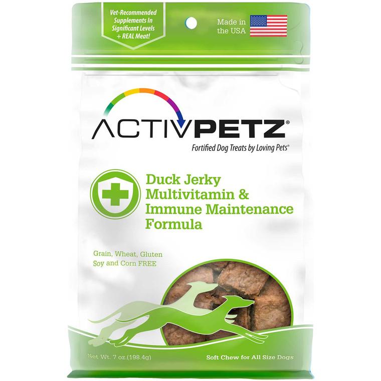 Activpetz Duck Jerky Multivitamin & Immune Maintenance Formula