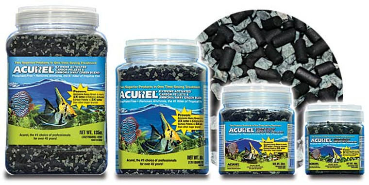 Activated Carbon Pellets & Ammonia Away Green Blend (30 oz.))