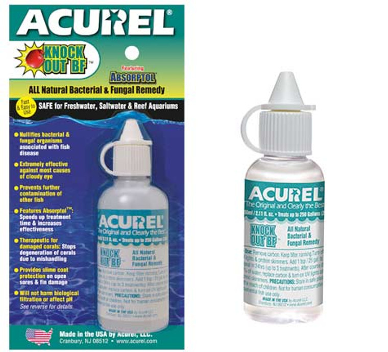 Acurel Knockout BF - Bacteria & Fungal Remedy (50ml)