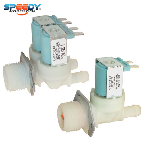 5-Pack DC62-30312H Replaces AP4204532 2070376 Compatible with Samsung Washers by PartsBroz PS4209090 DC62-30312J Water Inlet Valve