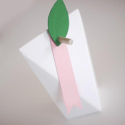 Ruban de papier pour boîte grand angle