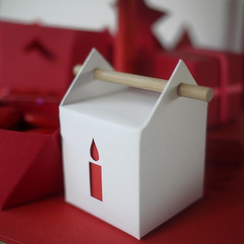 Boîte à la bougie, contenant à dragées