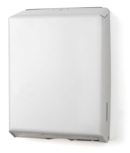 TD0170-17 White Multifold Towel Dispenser