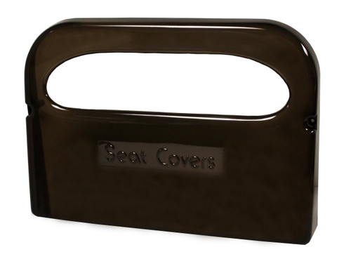TS0142-01 Dark Translucent - Half Fold Toilet Seat Cover Dispenser