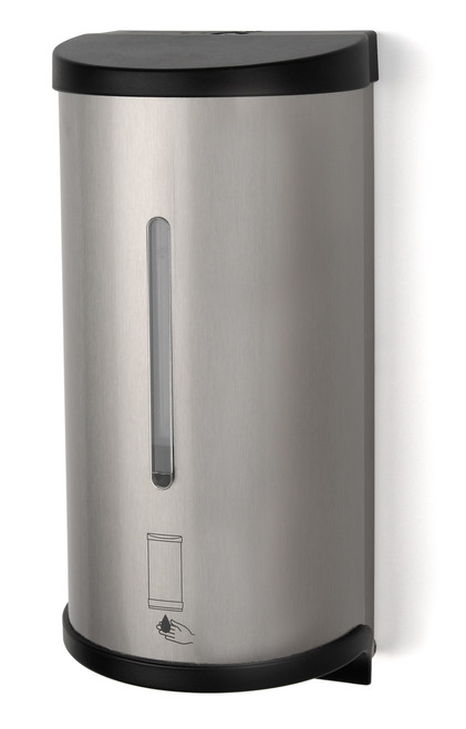 SE0800-09 Brushed Stainless - Touch-Free Bulk Liquid Soap Dispenser
