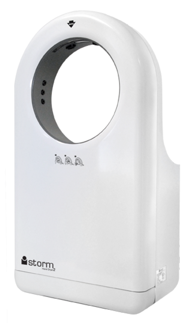 Touchless iStorm High Speed Hand Dryer/Blower in White (HD0983-17)