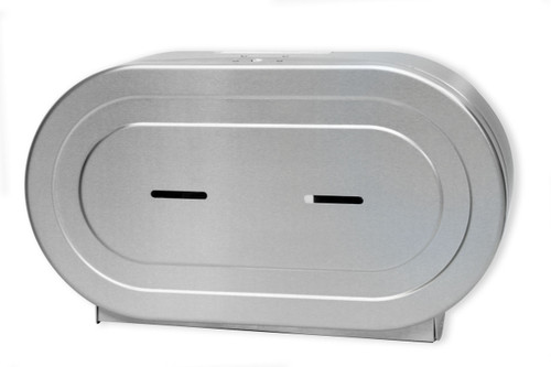 Twin Metal Toilet Tissue Dispenser RD0327-09 Brushed Stainless
