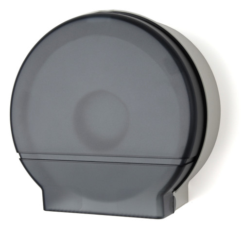 "RD0026-01 Dark Translucent - 9"" Jumbo Toilet Paper Dispenser"