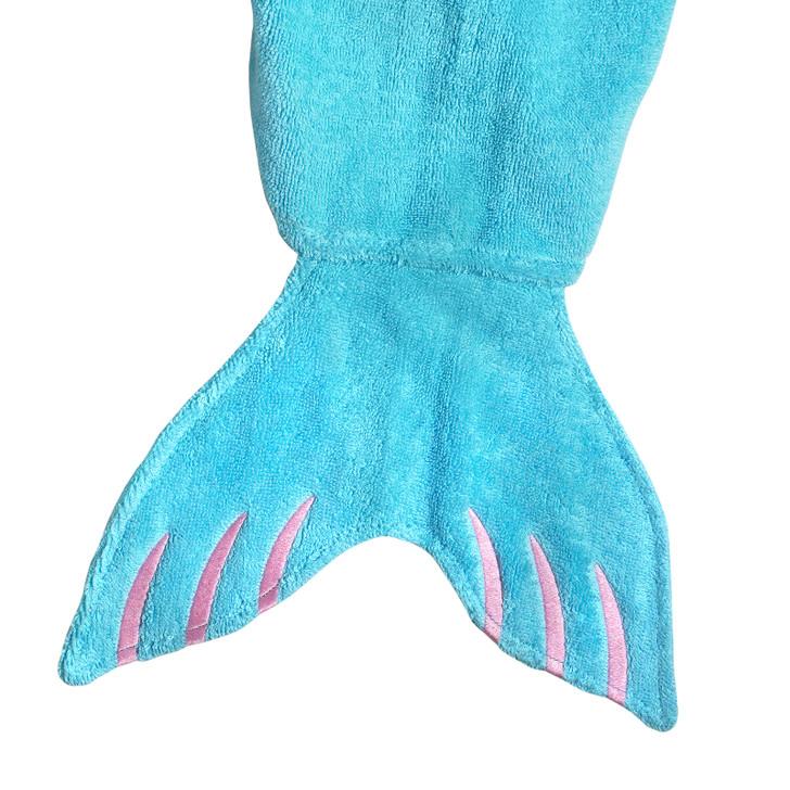 mermaid towel tail