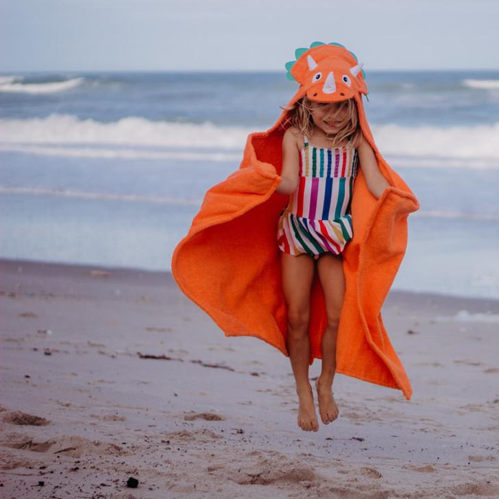 kids beach towel dinosaur