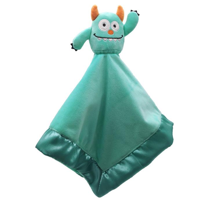 monster lovey blanket