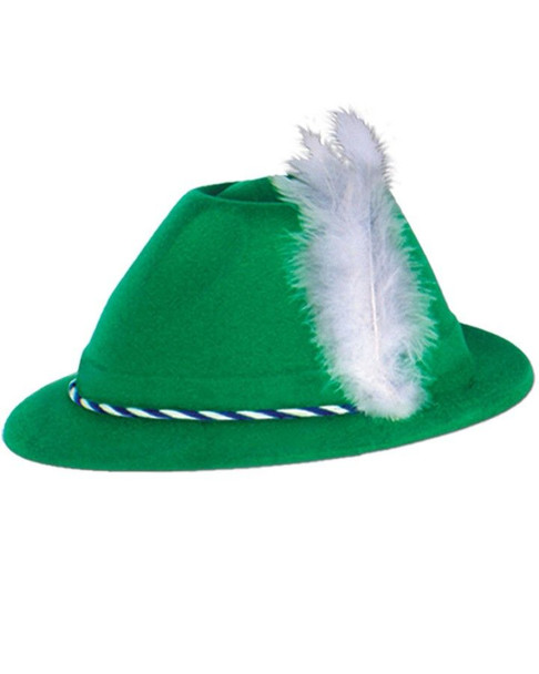 Alpine Hat Green Plastic