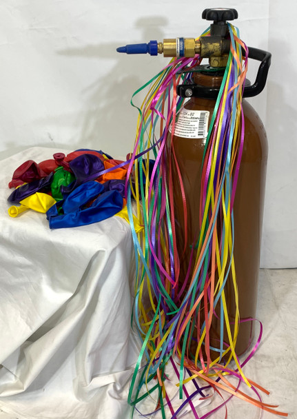 DIY Helium Balloon Gas Pack - 100 Balloons - This item can't be purchased online - Please call to arrange delivery
