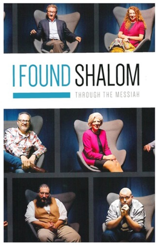 I Found Shalom - 24-page booklet