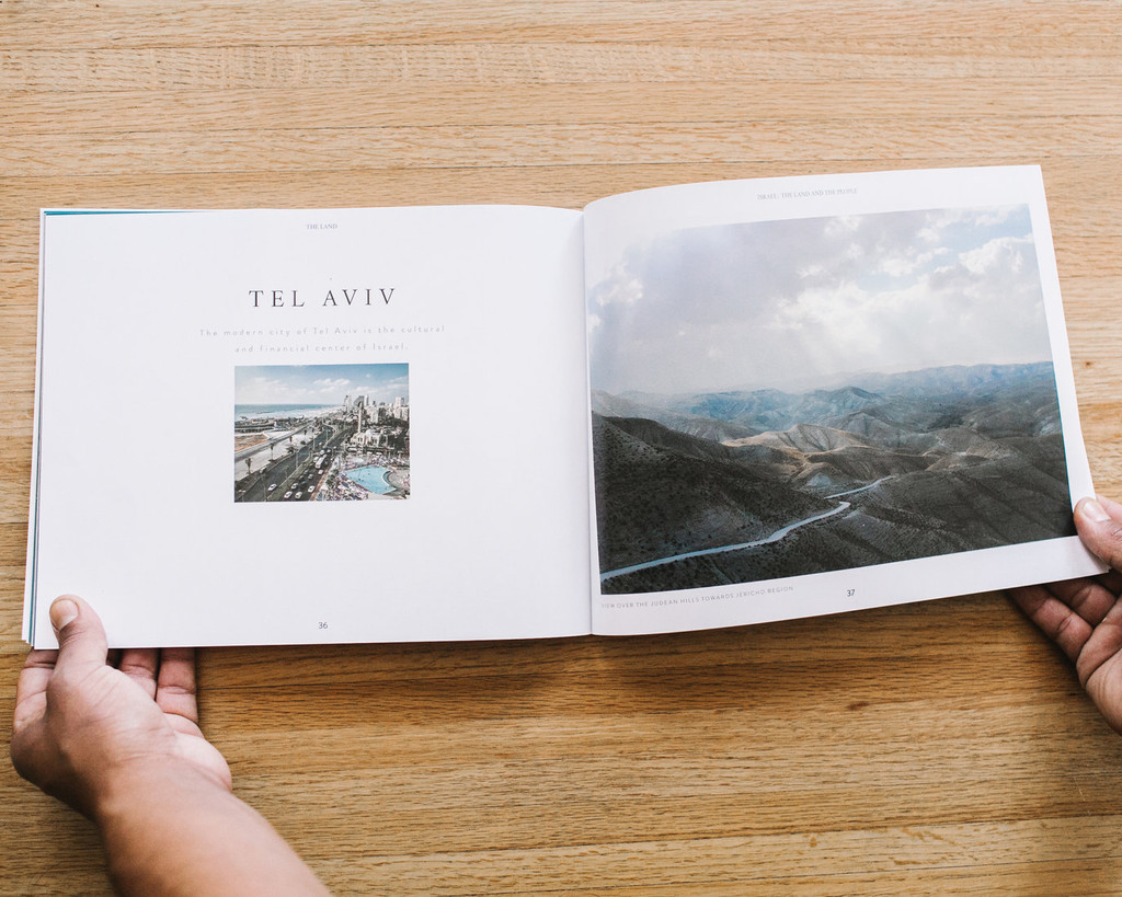 Israel, the Land and the People - Photo book