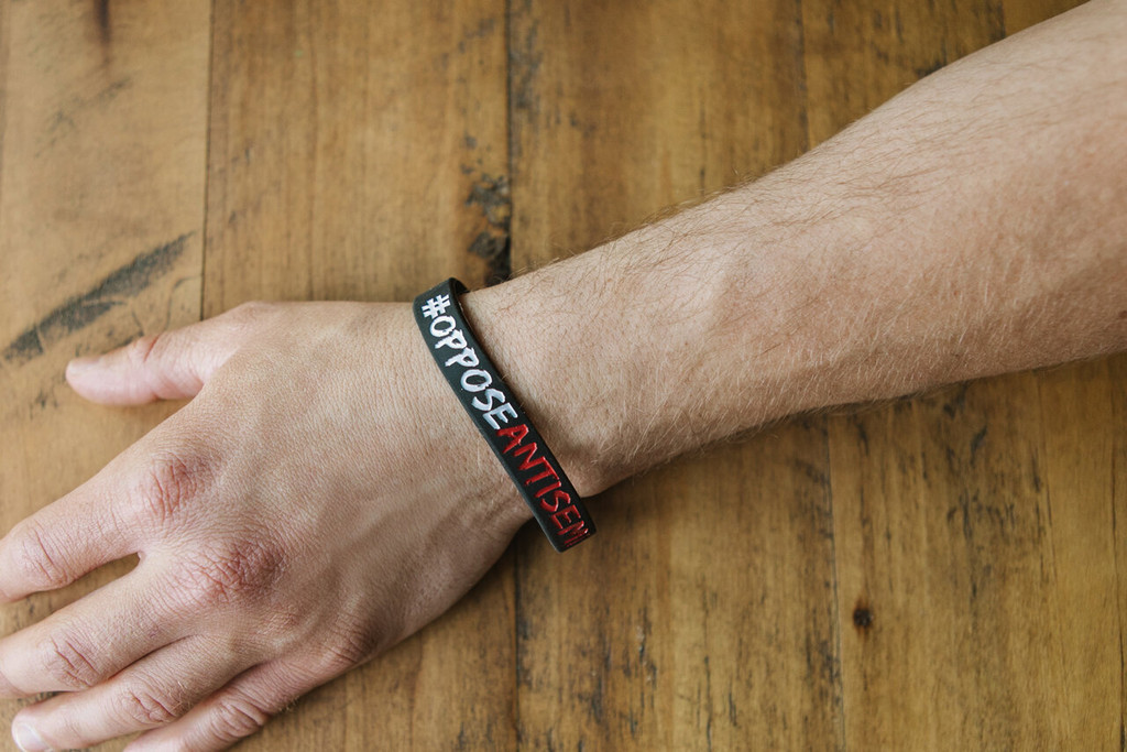 Oppose Antisemitism Wristband