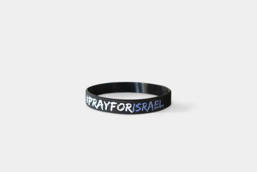 Pray for Israel Wristband