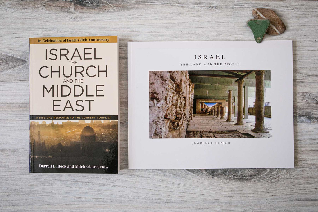 2 Book Set: Israel the Church and the Middle East + Israel: the Land and the People Photo Book